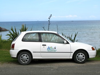Economy Car for Hire Great Barrier Island